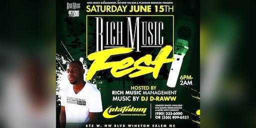 #RichMusicFest @ Platinum Nightlife June 15th