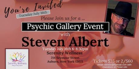 Steven Albert: Psychic Medium Gallery Event- 7/16 Auburn tickets