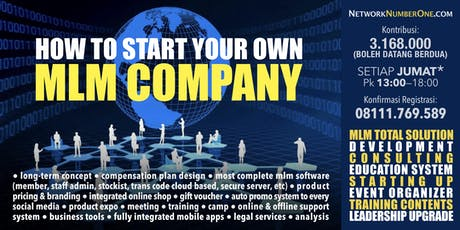 Start Your Own MLM Company tickets