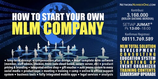Start Your Own MLM Company