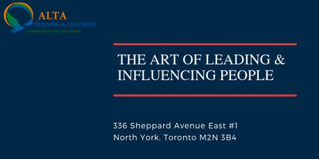 The Art Of Leading & Influencing People tickets