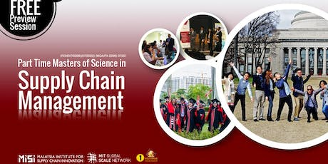 Part Time Master of Science in Supply Chain Management Preview Session tickets