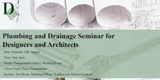 Plumbing and Drainage Seminar for Designers and Architects