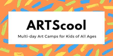 ARTScool PreK-Kindergarten tickets