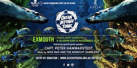 Sea Shepherd's Ocean Defence Tour 2019- Exmouth tickets
