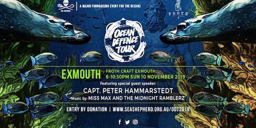 Sea Shepherd's Ocean Defence Tour 2019- Exmouth