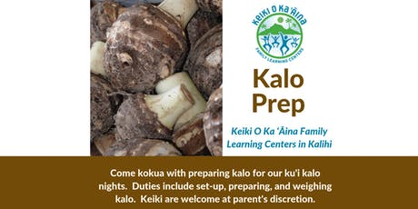 Kalo Prep tickets