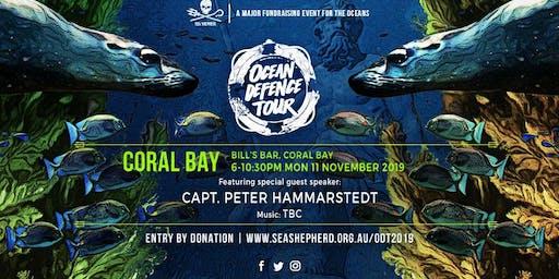 Sea Shepherd's Ocean Defence Tour 2019 - CORAL BAY WA