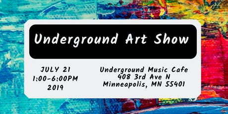 The Underground Art Show tickets