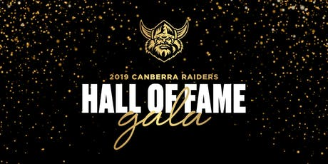 2019 Canberra Raiders Hall of Fame Gala  tickets