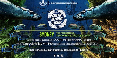 Sea Shepherd's Ocean Defence Tour 2019 - SYDNEY tickets