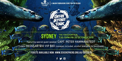 Sea Shepherd's Ocean Defence Tour 2019 - SYDNEY