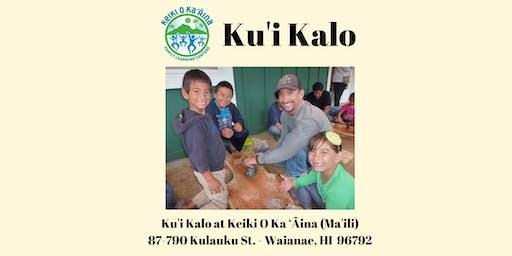 Ku'i Kalo Ma'ili (Waianae)