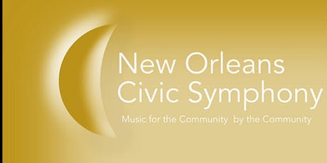 NEW ORLEANS CIVIC SYMPHONY SEASON FINALE  tickets