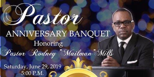 Pastor Rodney Mills Anniversary Banquet