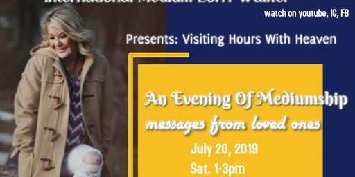 Visiting Hours With Heaven: An Evening of Mediumship
