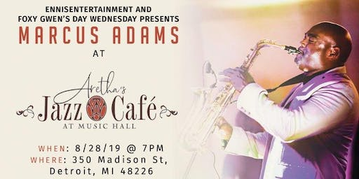 Marcus Adams at Aretha's Jazz Cafe