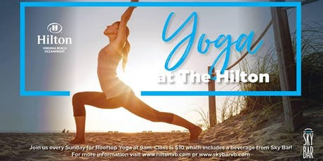 Yoga at The Hilton tickets
