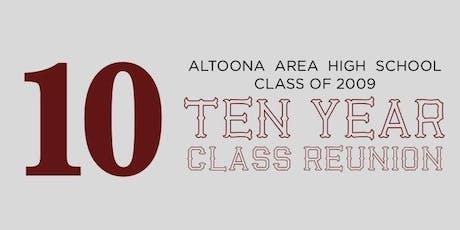 Altoona Area High School Class of 2009 - 10 Year Reunion tickets