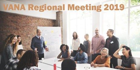VANA Regional Meeting 2019 Benalla  tickets