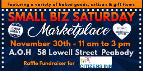 Small Business Saturday Marketplace, 2nd annual tickets