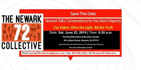 Newark Talks: Conversations for the Silent Majority- 1.0 tickets