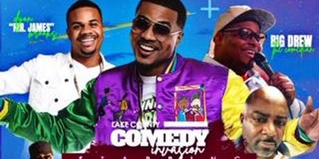"""Lake County Comedy Invasion Starring Timothy """"PrinceTdub"""" Wilson, feat. Dyon Brooks aka Mr. James, DAHOESHOWS own """"Arie Hill"""" Hosted by Big Drew The Comedian  tickets"""