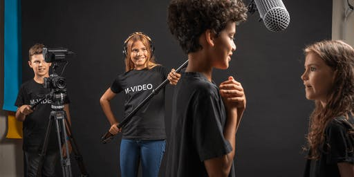 Movie-Making Workshop for Kids   M-CREATIV'Kids