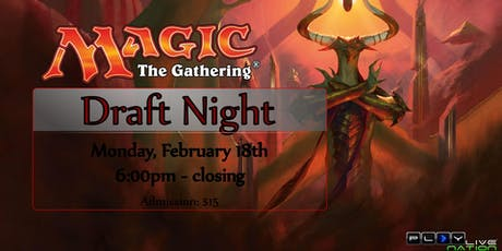 MAGIC: The Gathering (Draft Night) tickets