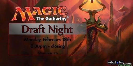 MAGIC: The Gathering (Draft Night)