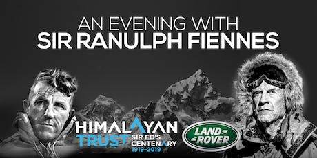 An Evening with Sir Ranulph Fiennes supporting The Himalayan Trust tickets