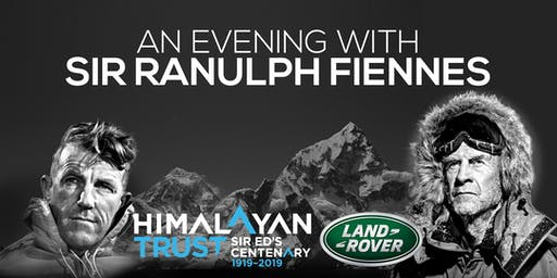 An Evening with Sir Ranulph Fiennes supporting The Himalayan Trust