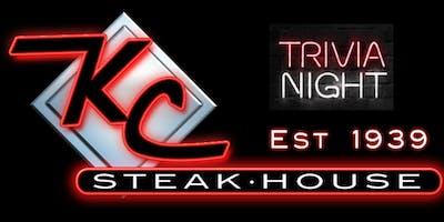 Trivia Nights' at KC Steak House