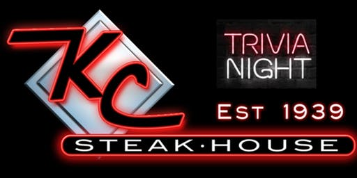 Trivia Nights' at KC Steak House