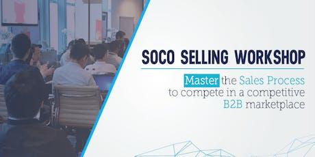 Sales Training Singapore - SOCO Selling Workshop tickets