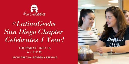#LatinaGeeks San Diego Chapter Celebrates 1 Year!