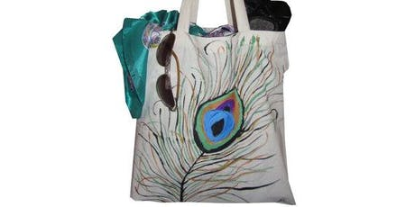 Pour & Paint Your Own Tote Bag tickets