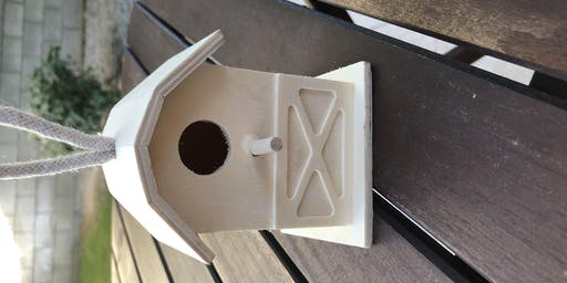 Pour & Paint Your own Birdhouse