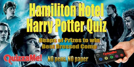 Hamilton Hotel Harry Potter Quiz tickets