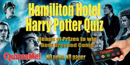 Hamilton Hotel Harry Potter Quiz