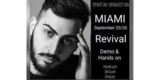 ADVANCED AIRTOUCH (HANDTOUCH) CLASS BY HAIRSEKTA. Demo/Hands-on. MIAMI,FL