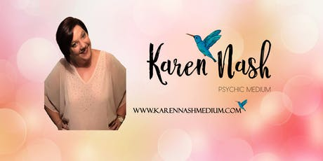 Karen Nash Medium Live Event tickets