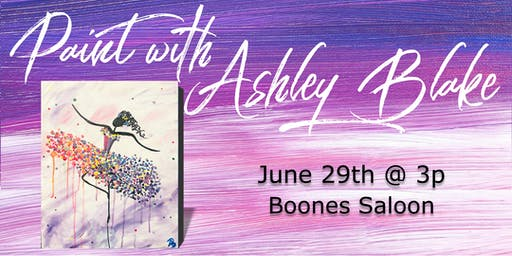 Paint with Ashley Blake at Boones