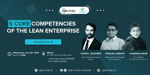 Agile Workplace | Five Core Competencies of the Lean Enterprise by SAFE 4.6