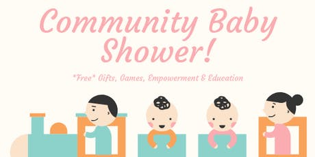 Community Baby Shower  tickets