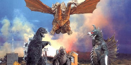 35mm GODZILLA VS GIGAN at the Vista, Los Feliz tickets