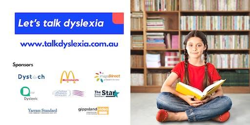 Let's talk dyslexia - For parents, teachers and professionals
