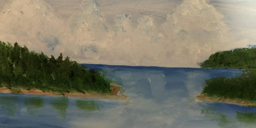 """Pour & Paint """"Islands"""""""