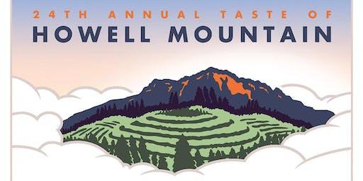 Taste of Howell Mountain