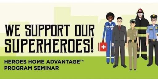 """""""Heroes Home Advantage"""" Homeownership Seminar"""